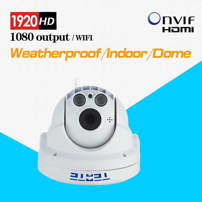 TEATE Full HD Wireless PTZ Dome IP Camera 1080P 2.0MP with Pan/Tilt/Zoom TF/Micro SD Card Slot Low Lux ONVIF CK-262(China (Mainland))