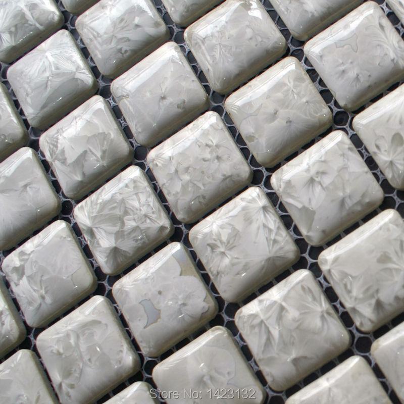 porcelain tile glazed ceramic grey mosaic tiles adt96
