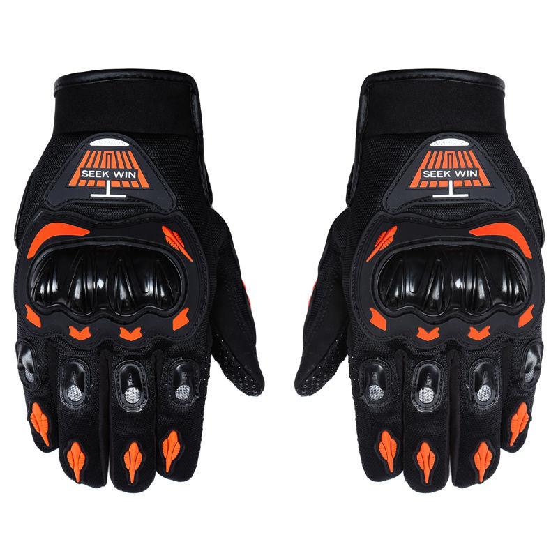 New Brand Homens Luva Moto Guantes Motorcycle Gloves Motorbike Men Full Finger Motocross Luvas Motocicleta Guante