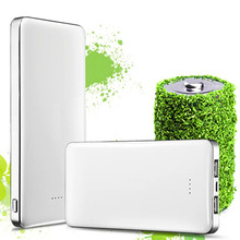 High Quality Dual USB Power Bank 8000mAh Mobile External Battery Portable PowerBank for ipad iphone tablet and mobile phone