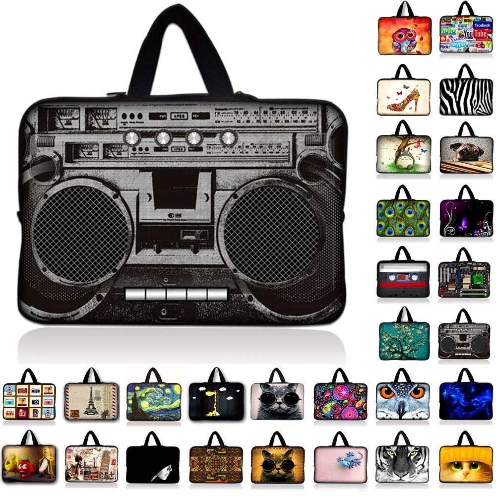 New PC Bag 10 11.6 12 12.1 13 13.3 15 15.6 17 17.3 Laptop Bag For Women Sleeve Case Tablet Briefcase Netbook Protective Pouch(China (Mainland))