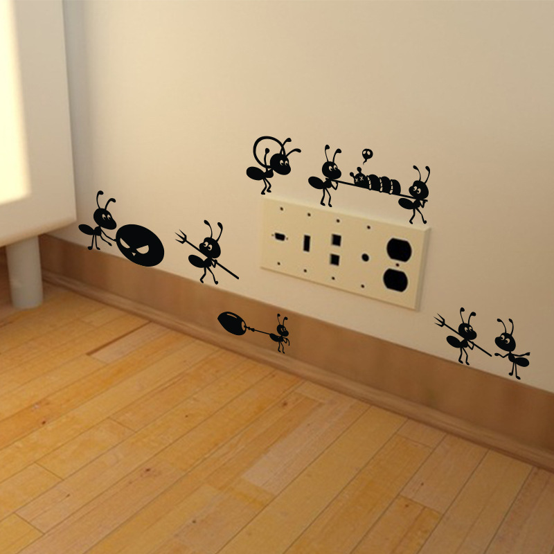 Ant-house-Moving-Art-wall-stic