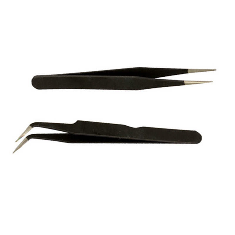 2015 High Quality Hot Sell 2 Black Acrylic Gel Nail Art Rhinestones Paillette Nipper Picking Tool ST1#(China (Mainland))