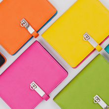 2016 New A6 Dokibook notebook candy agenda planner organizer   Spiral leather for gift Notepad Office Stationery