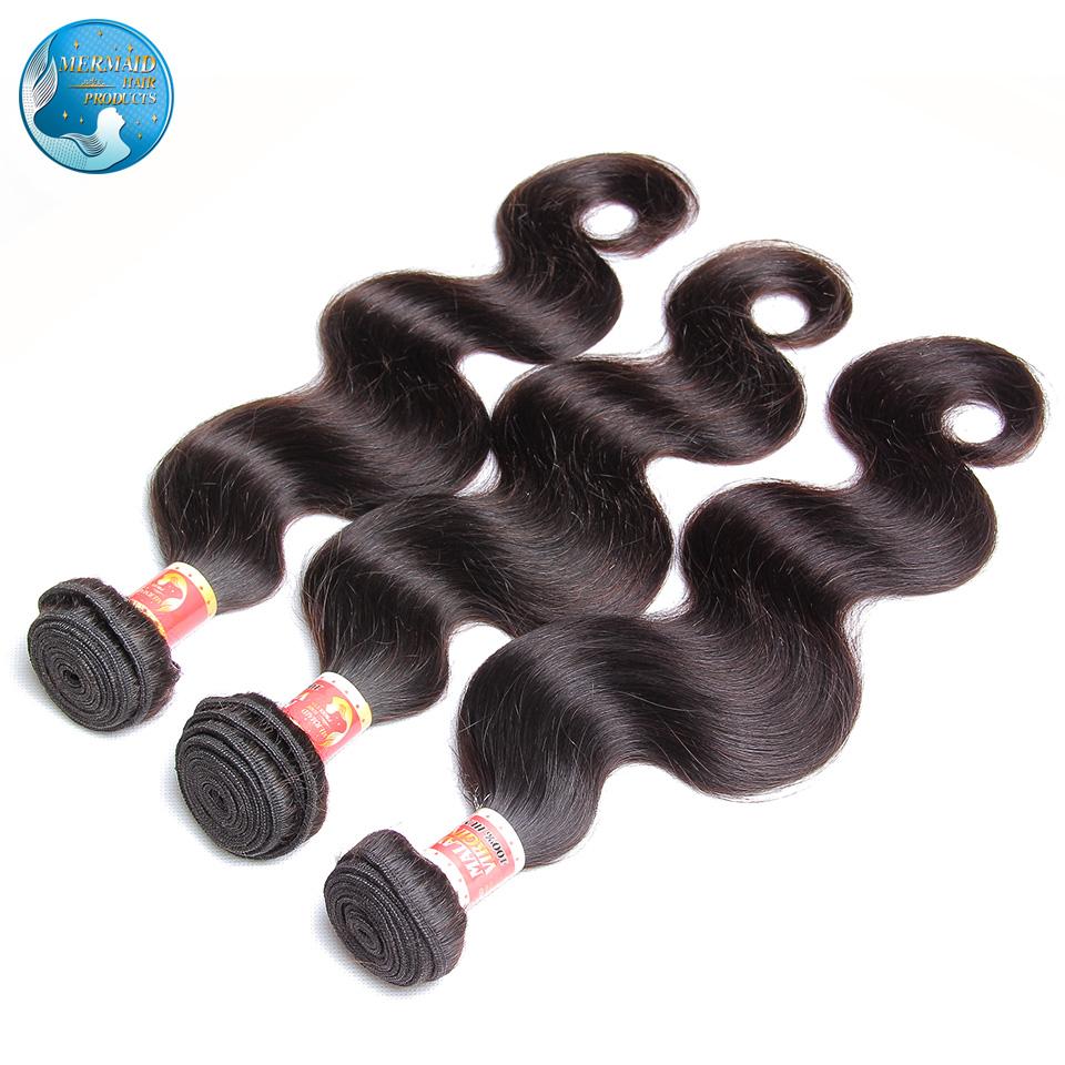 virgin malaysian body wave nature black #1b grade 6A unprocessed 3 lot malaysian virgin body wave hair extension soft human hair<br><br>Aliexpress
