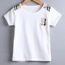 Hot sale clothing set summer cotton boys clothes casual t shirt and fashion pants children suit