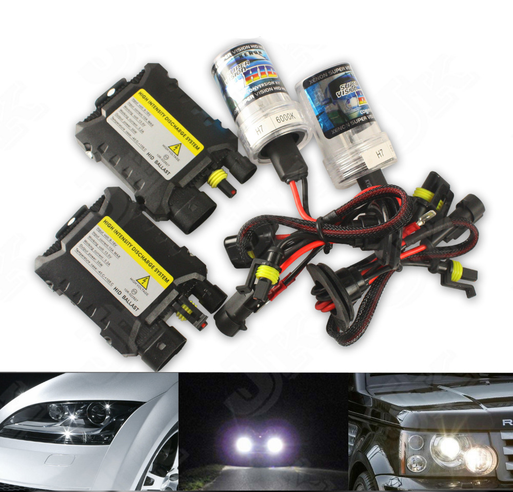 Factory Direct Sale!! Xenon HID Replacement Headlight Slim Ballest Kit OME White 10000K H3 55w 12V SINGLE BEAM(China (Mainland))