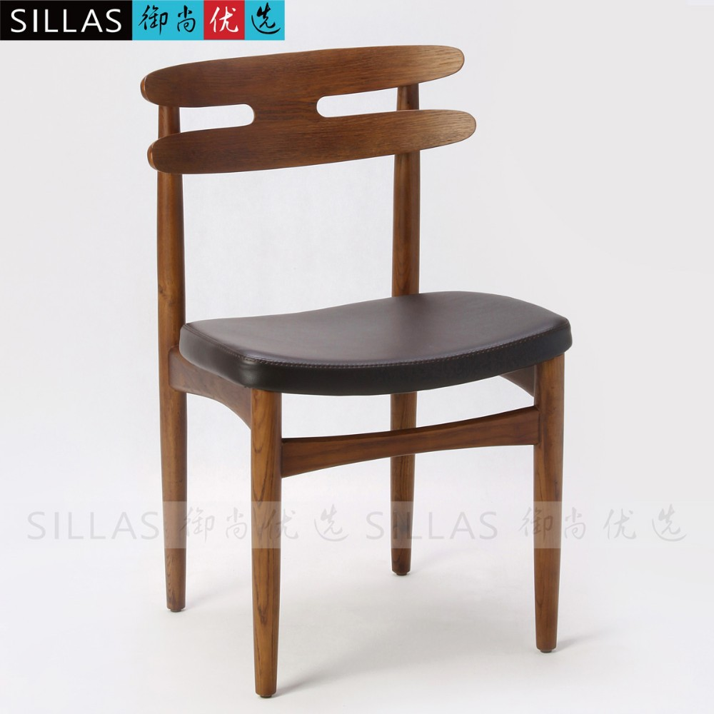 Nordic furniture new classical solid wood dining chair