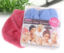 Bathroom Shower Cap Dry Hair Soft, Breathable Absorbent Bathing Suits Dry Hair Hat(China (Mainland))