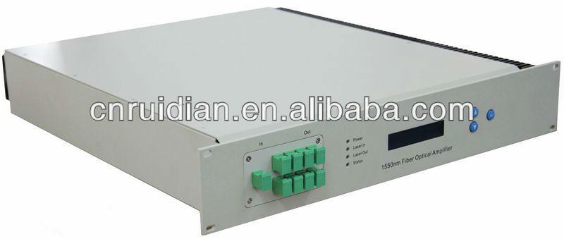 1550nm High Output Fiber Optic CATV Amplifier/ EDFA RED8030-16(China (Mainland))