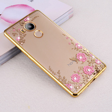 "Buy Huawei Honor 6C Case TPU silicone Capa Flowers Bling Diamond Clear Soft Case Huawei Nova Smart / Honor 6 C 5.0"" Coque for $2.99 in AliExpress store"