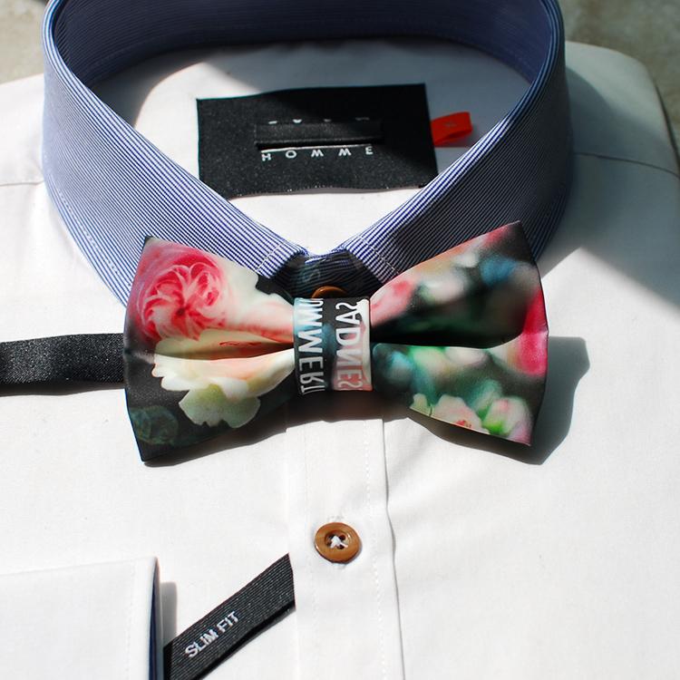 2016 mens fashion brand original brand designers bow tie wedding floral neck ties boys bowties black necktie pajaritas hombre(China (Mainland))