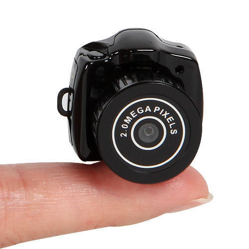 Portable Y2000 Mini Camera the world smallest Video Recorder Webcam DV Hidden Camcorder(China (Mainland))