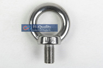 Free Shipping Wholesale Rigging Hardware Heavy Duty M24 DIN580 Metric Thread Stainless Steel 304 Lifting Screw Eye Bolt