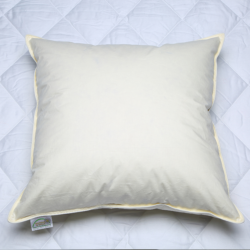 Washed 100 White Goose Down Cushion Pad Inner Insert 100 Downproof cotton 233TC Hotel Quality Soft