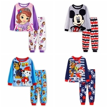 Buy kids Girls pajamas sets Sofia Princess pyjamas kids pijama infantil sleepwear home clothing cartoon cotton Baby pijama 2-7Y for $6.80 in AliExpress store