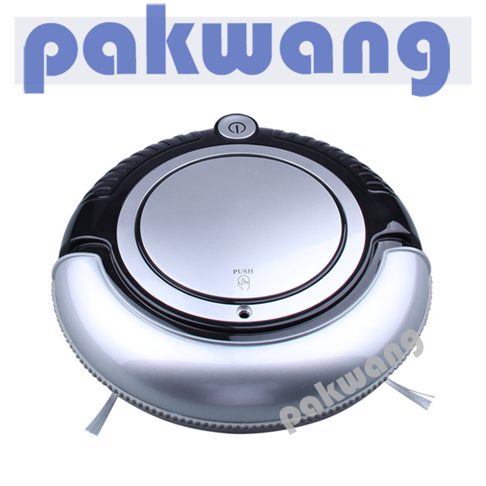 K6L Mini Robot Vacuum Cleaner with 3 cleaning route, HEPA filter, one button turn on/off cleaner big mop robotic vacuum(China (Mainland))