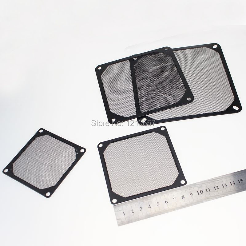 10 Pieces lot Black 90mm 9cm Aluminum Dustproof Cover Dust Filter for PC Cooling Chassis Fan<br><br>Aliexpress