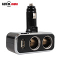 12V 24V USB Car Charger Cigarettes USB Car Charger Adapter for Mobile Phone
