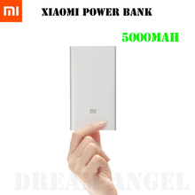 In Stock Original Xiaomi Power Bank 5000mAh, Usb Output Mi Power Bank 5000mAh for Pad/Phones(China (Mainland))
