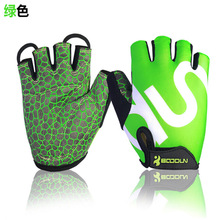 Buy Cycling Gloves Half finger Outdoor Sport Cycle Mtb Road Riding Bike Bicycl GEL Gloves Bicicleta Mountain Bike Gloves Black Green for $6.62 in AliExpress store