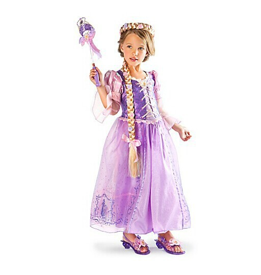 Fantasia Vestidos,2015 Children Kids Cosplay Dresses Rapunzel Costume Princess Wear Perform Clothes HOT Sale free shipping(China (Mainland))