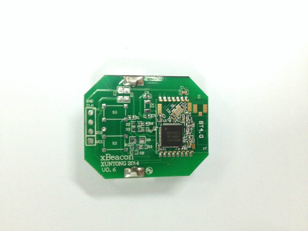 Bluetooth low energy iBeacon module based on nrf51822(China (Mainland))