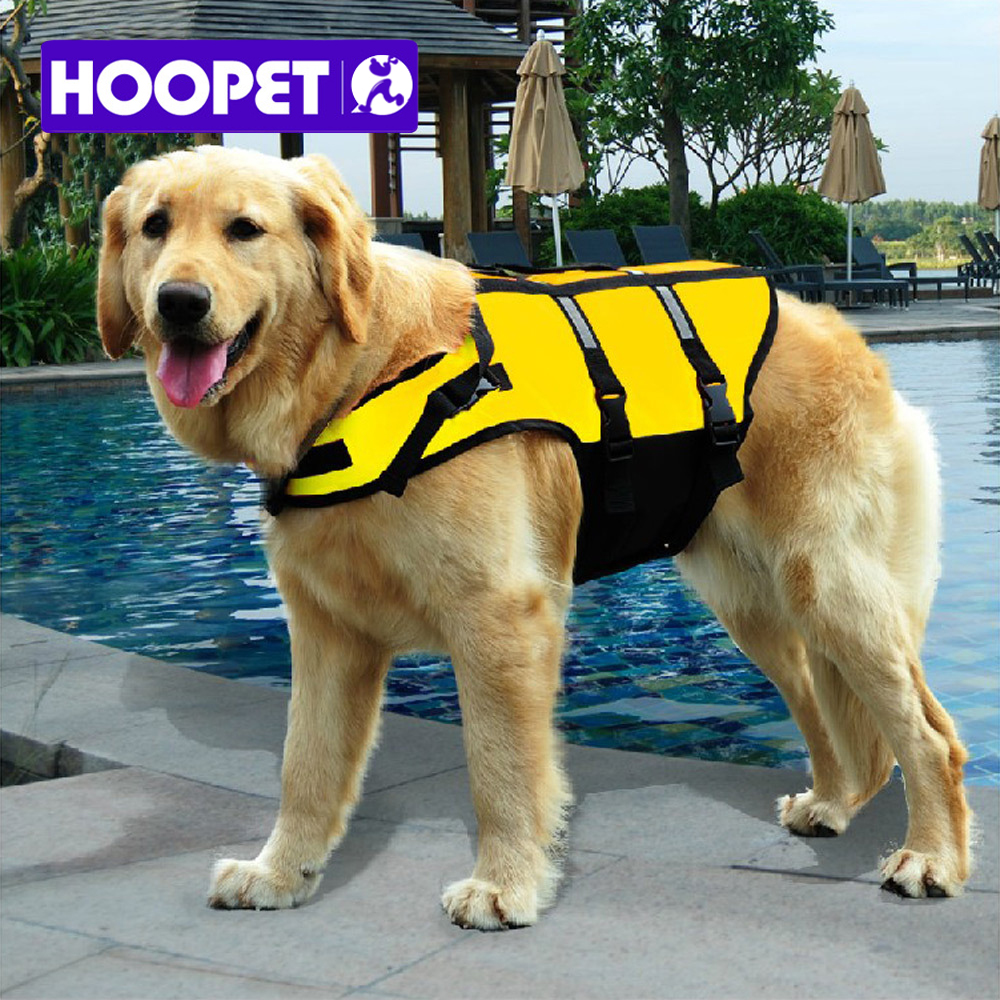 Pet life jacket safety vest summer clothes Tactic golden big dog pet products manufacturers sell clothes for swimming(China (Mainland))
