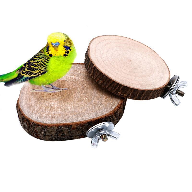 Попыгай Птицу Жевать Игрушки Деревянные Висят Качели Попугай Cockatiel Клетка Cages-Y102