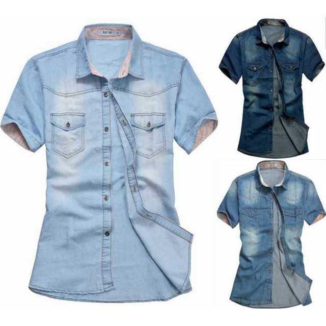 Человек фитнес-летние рубашка мода джинсы для мужчин дизайнер хип-хоп рубашка рок ...