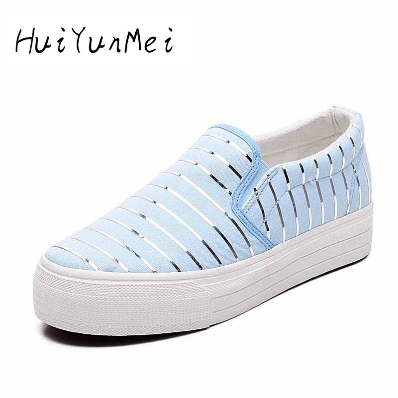Women Casual Snakeskin Pattern PU Summer Slip-On Flat with Fashion Shoes 2016 New Arrival Bling Metal Plate Shoes