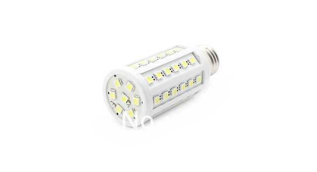 E27 13.2W 880-930LM 55x5050 SMD LED White Corn Light Bulb (220V)