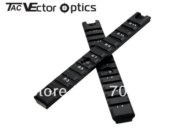 Vector Optics Tactical Side Long 20mm Picatinny Rails One Pair Fit HK G36 G36C Accessories
