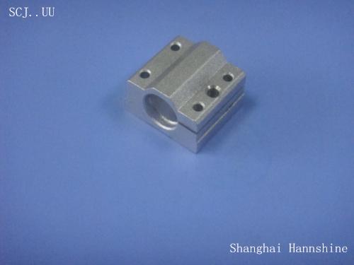 Free shipping wholesales 1pc/lot SCJ40UU 40mm adjustable Linear axis ball bearing block/slider for CNC part(China (Mainland))