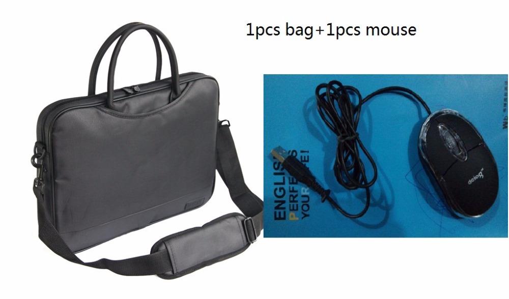 One shoulder handbag laptop bag 14 15.6 16 16.4 17 17.3 inch computer bag laptop messenger briefcase(China (Mainland))