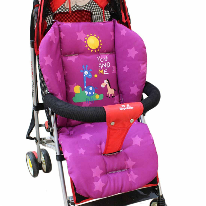 Купить Детские товары  Baby New Giraffe Stroller Cushion Child Cart Seat Cushion Cotton Thick Mat None