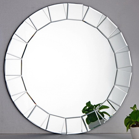 Decorative mirror wall mirror home design mosaic mirror in for Round bathroom wall mirrors