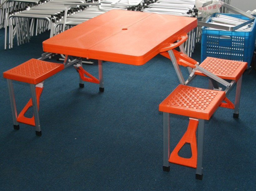 Comprar pl stico exterior mesa plegable for Mesa plastico jardin