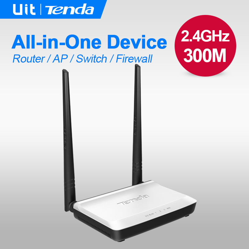Tenda N300 300Mbps Home Wireless WiFi Router, Repeater, IP QoS, WPS Button, Wireless AP+Switch+ Firewall integrated ,Easy Setup(China (Mainland))