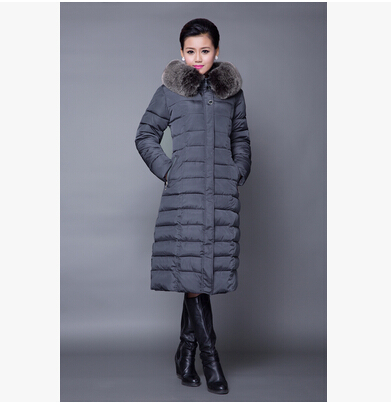 Winter Jacket Women 2015 Coat Plus Size 5XL Long Parka Luxury Fur Cotton-Padded Coats mother Wadded Jackets - yixiaoerguo's store