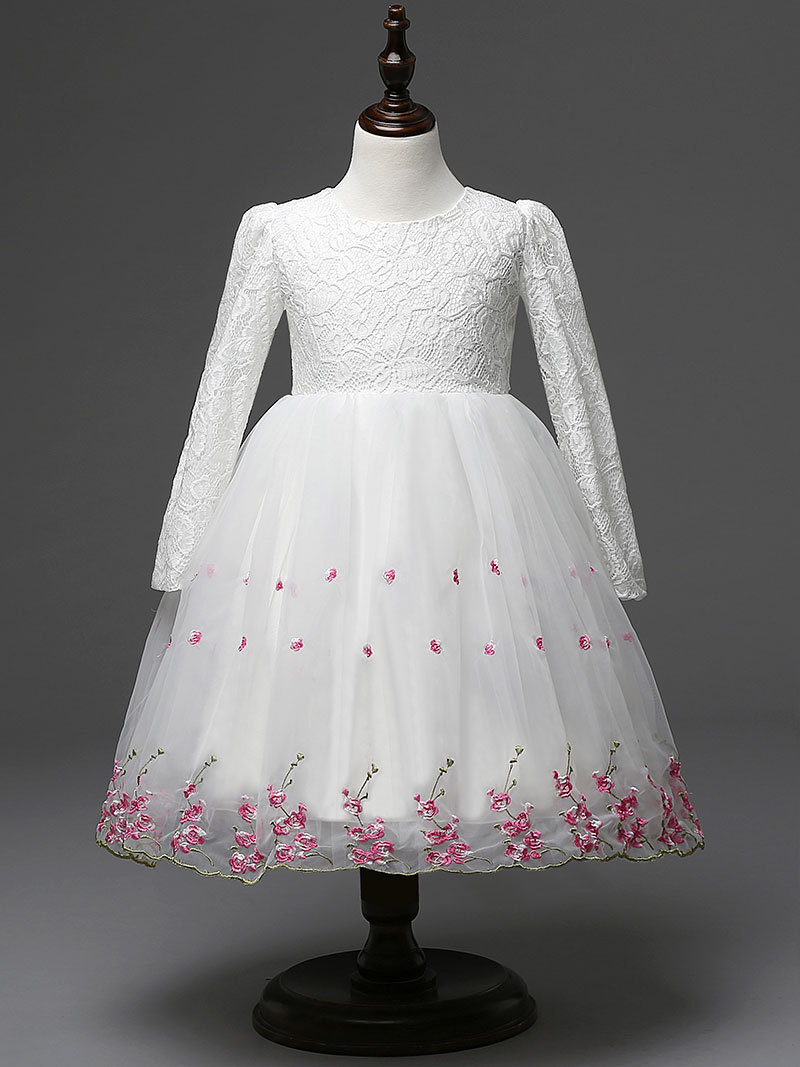 High quality bridesmaid dresses child promotion shop for high baby girl dresses white for wedding children princess lace dress toddler gowns child bridesmaid clothing ombrellifo Choice Image