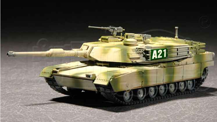 toy hobby tank model 1/35 US Army M1A2 main battle tanks for boy and girl 3D DIY toy model kits best gift(China (Mainland))