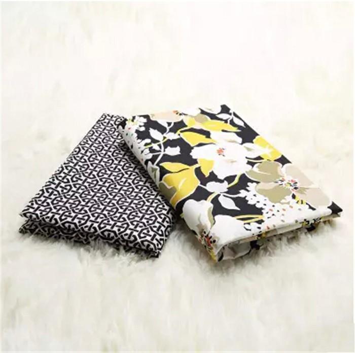 Flower 100% Cotton Patchwork USA VB Fabric Weave Plain Fabric For DIY Handmade Bag,Sewing Craft,Cloth Textile 2pcs/lot 150*50cm(China (Mainland))