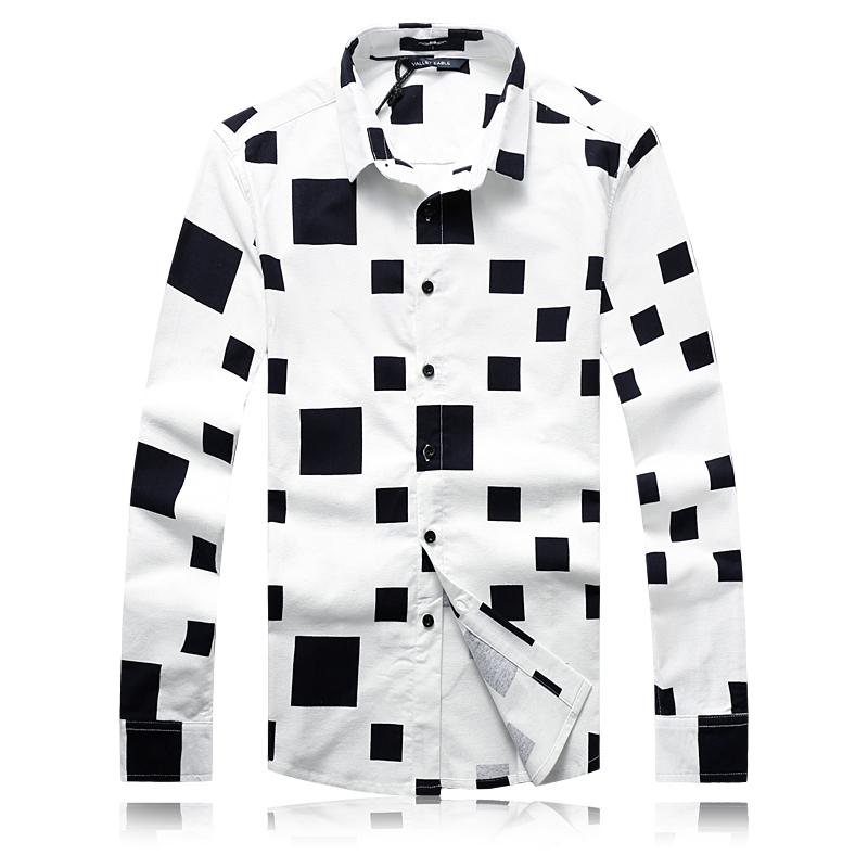 2016 New Arrival Mens Long Sleeve Shirt Famous Brand Menswear Casual Men Shirts Fashion Oversized Cotton