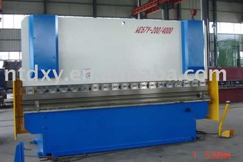 WC67Y-200/4000 press brake