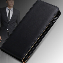 Retrol Luxury Korean Style Genuine Leather Vertical Case For Nokia Lumia 800 N800 Up And Down Flip Mobile Phone Cover SGS03253(China (Mainland))