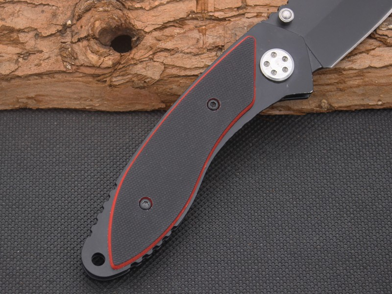Buy 440C Steel Blade G10 Handle Folding Knife Motorcycle Survival Knifes Pocket Hunting Tactical Knives Camping Outdoor EDC Tool X31 cheap