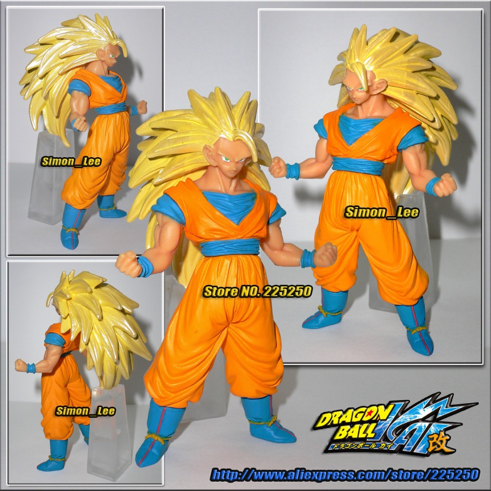 Japanese Anime DRAGONBALL Dragon Ball Z/Kai Genuine Original BANDAI Gashapon PVC Toys Action Figures HG 22 Goku Super Saiyan 3 - DRAGON BALL Store store