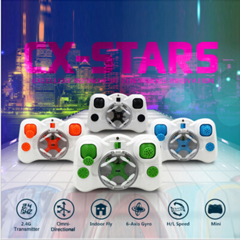 ET RC Drone CX-Stars mini Quadcopter 4CH shatterproof helicopter Mode 2 RC helicopter UAV 4-axis electric toys for children gift(China (Mainland))