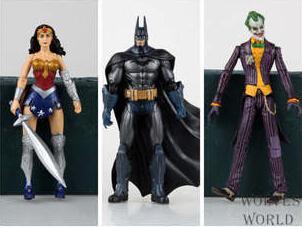 18cm Batman The Joker Wonder Woman Action Figure Superhero Toy brinquedos C611 Free shipping<br><br>Aliexpress